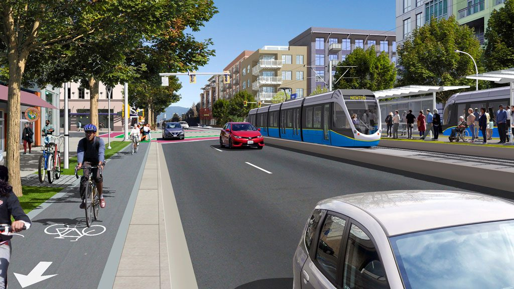 SkyTrain extension planned for Surrey, LRT scrapped