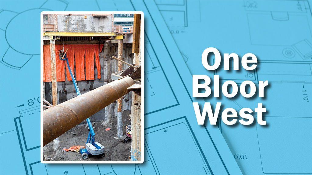 PHOTO: One Bloor Build