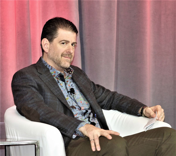 "ACEC conference panellist Jeff DiBattista, practice principal with the firm Dialog, told delegates to ""be the disruptor."""