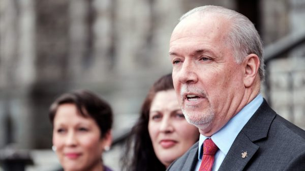 B.C. Premier John Horgan came under fire in the summer of 2018 after the NDP government introduced community benefit agreements for public infrastructure projects.