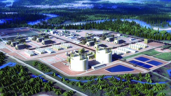 Political and construction industry representatives applauded news that the $40-billion liquefied natural gas export facility in Kitimat, B.C. was approved.