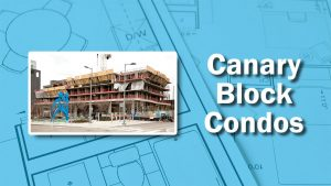 PHOTO: Canary Block Construction