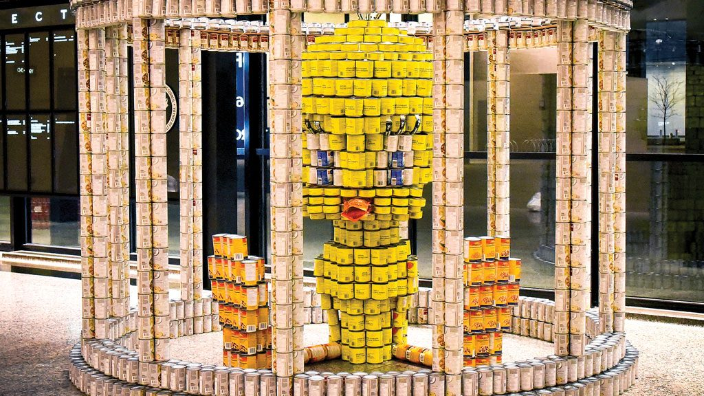 Canstruction calls for entries for 20th anniversary competition