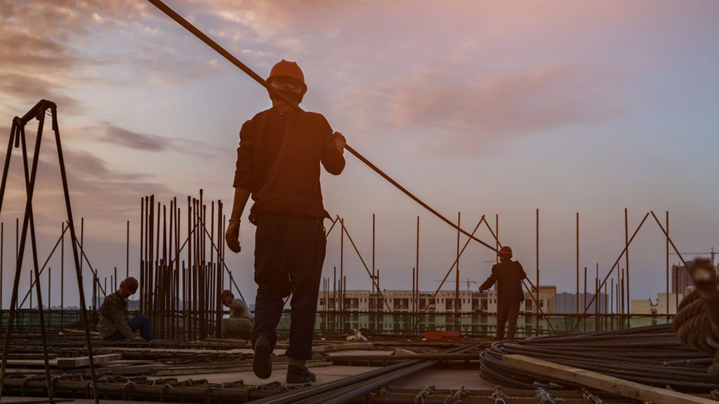 Maps - Georgia Best and New Jersey Worst for Construction Jobs Growth