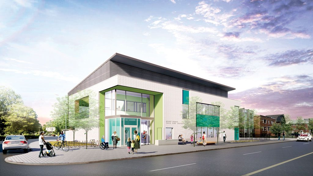 Child care centre Toronto's first net zero facility