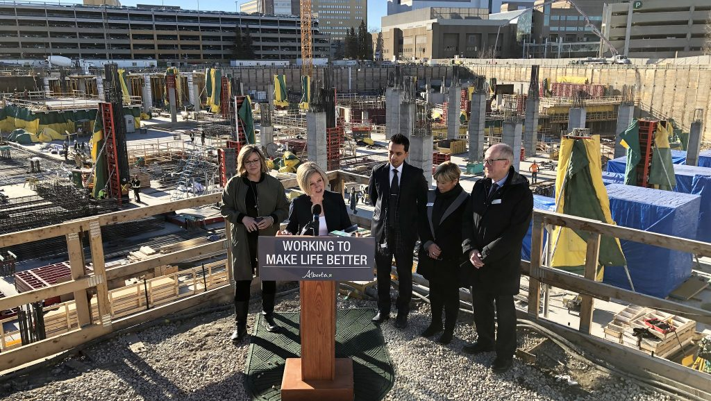 Work progresses at $1.4-billion Calgary Cancer Centre
