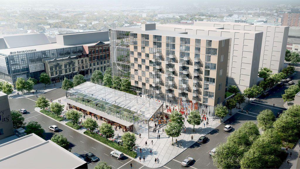 Daoust Lestage wins Winnipeg Market Lands design competition