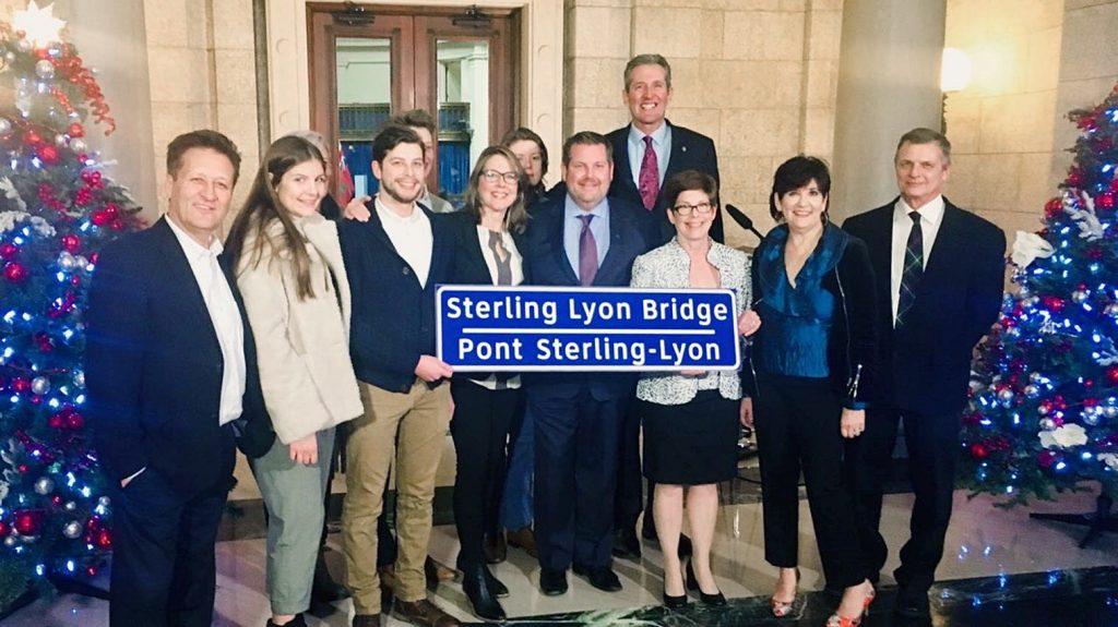 Manitoba names new bridge after former premier