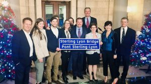 Manitoba names new bridge after former premier