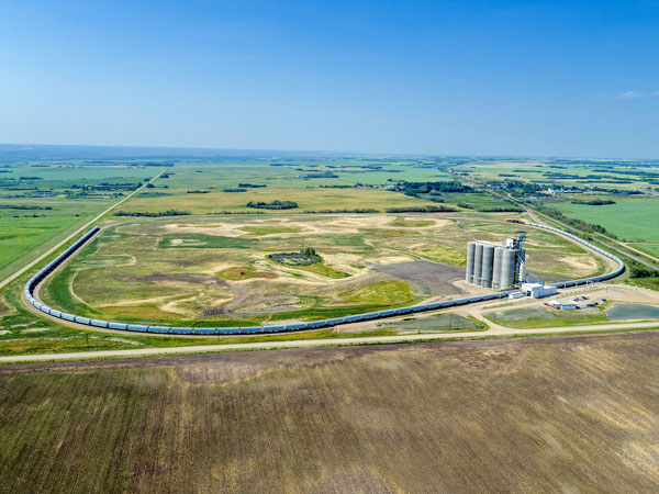 GrainsConnect has two loop track facilities in Saskatchewan and has two more planned for construction in Alberta.