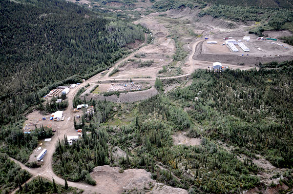 Victoria Gold's Dublin Gulch gold property, the site of the Eagle Gold mine, covers 555 square kilometres and is situated 85 kilometres from the town of Mayo.