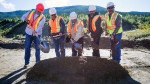 Construction at huge Yukon gold mine reaches milestone