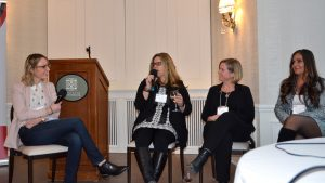 Women share experiences in male-dominated industry at CAWIC talk