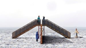 Winter Station installations open on Woodbine Beach
