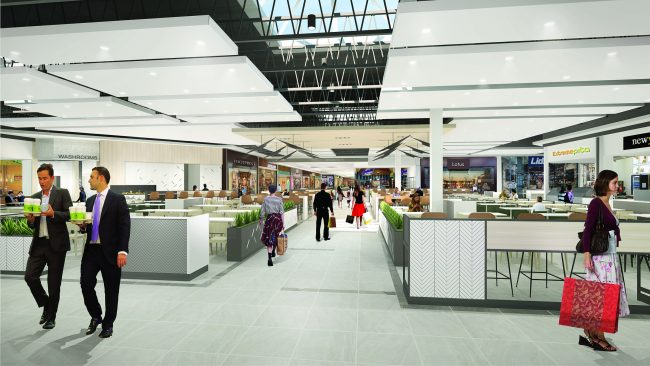 The interior of Saskatoon's Centre Mall is slated to be extensively renovated. To stay open and minimize disruption, the renovation work will be performed in phases. It is expected to be completed in 2020.