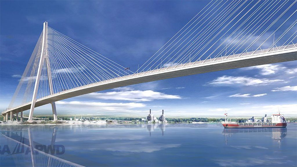 Gordie Howe Bridge team selects design for Michigan pedestrian bridges