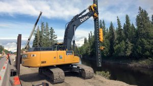 Adapted pile driver wins ORBA innovation award