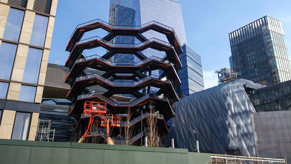 New York's $25B Hudson Yards development opens