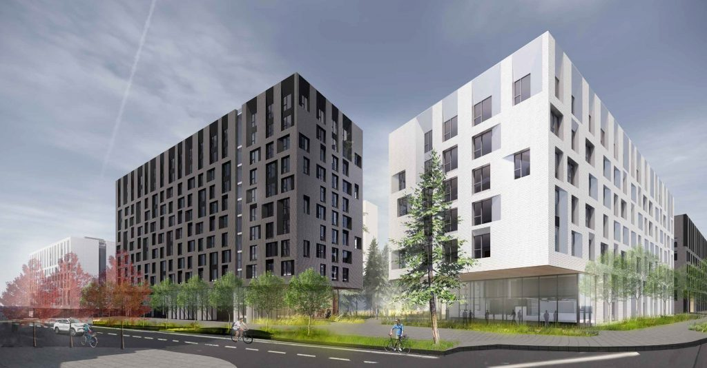 UBC shows ambitious student housing project to the public