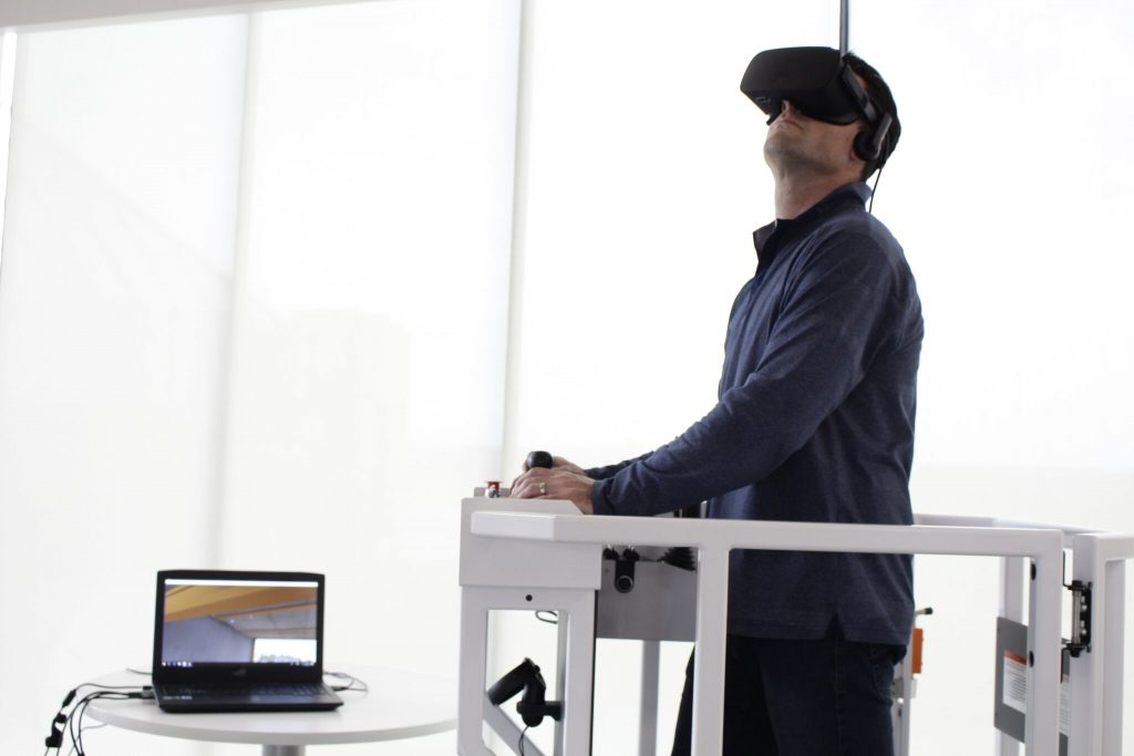 Serious Labs, an Edmonton-based software company, has partnered with Industrial Training International Inc., a U.S. company that conducts training and instructional design, to produce virtual reality-based simulators that teach crane operators how to use the equipment.