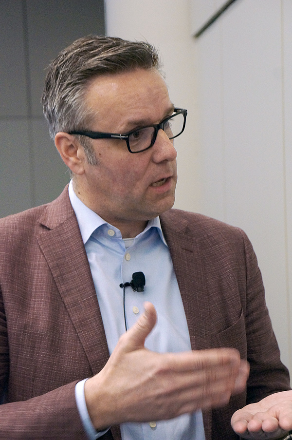 Rick Huijbregts, vice-president of strategy and innovation at George Brown College, told a luncheon crowd at the Construction Specifications Canada Building Expo, held recently in Toronto, that a cultural shift is needed in order for the construction industry to evolve to new digital requirements.