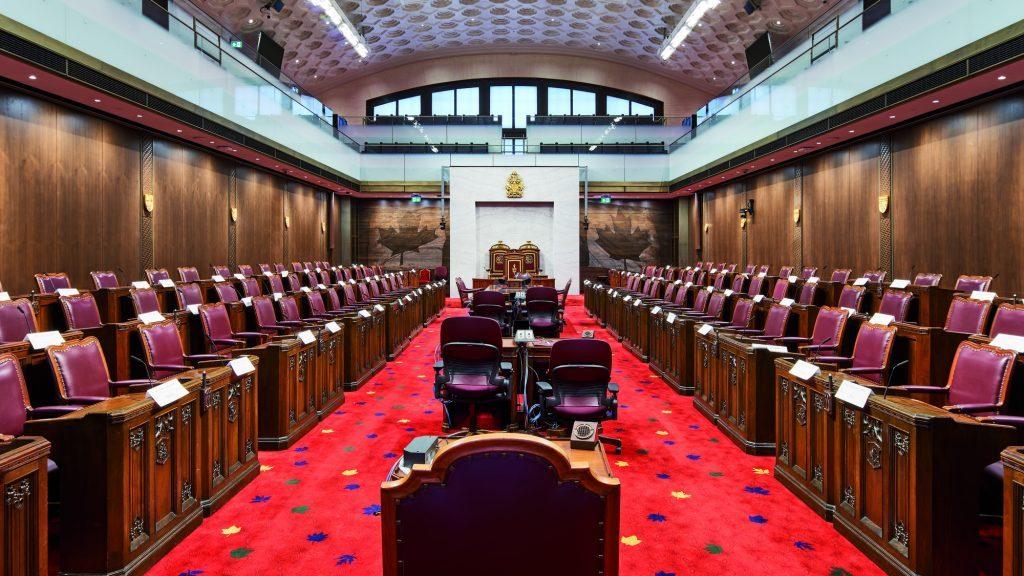 Restored Senate of Canada Building provides temporary home for senators