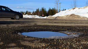 Prince George gets to the bottom of pothole problems