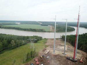 $1.6-billion Alberta powerline project finishes early
