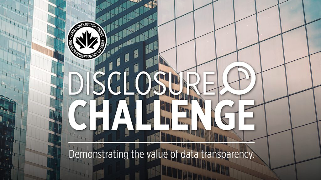 CaGBC launches data Disclosure Challenge