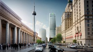 Cadillac Fairview breaks ground on Toronto Front Street project