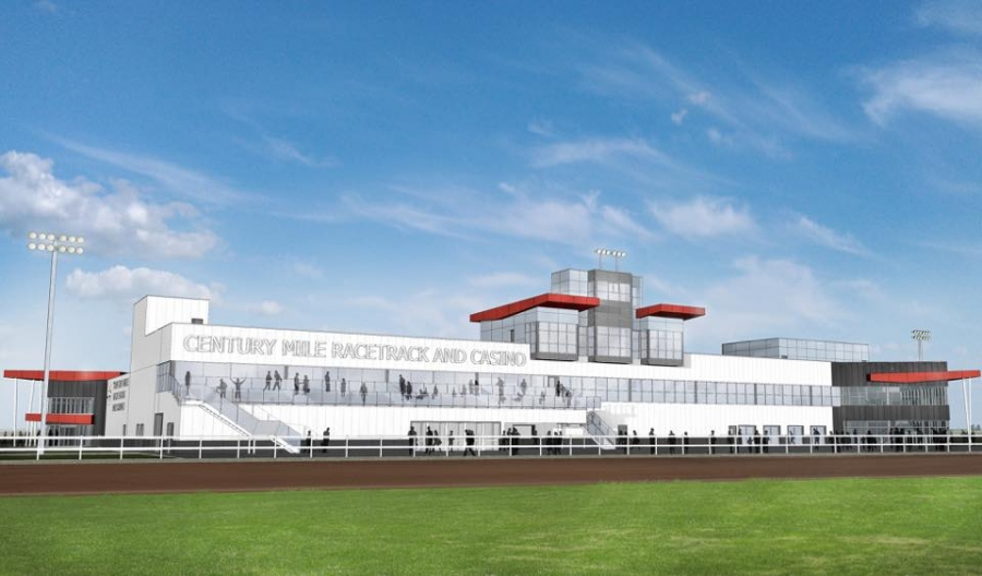 Casino and racetrack cross the finish line in Leduc
