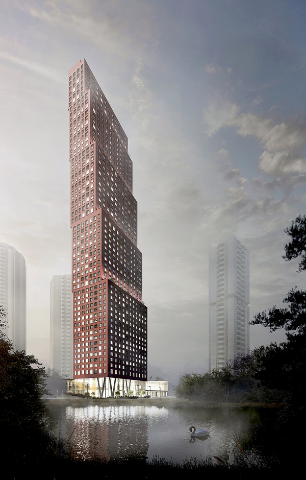 The new 60-storey CG Tower from Cortel Group is expected to be complete by September 2021.
