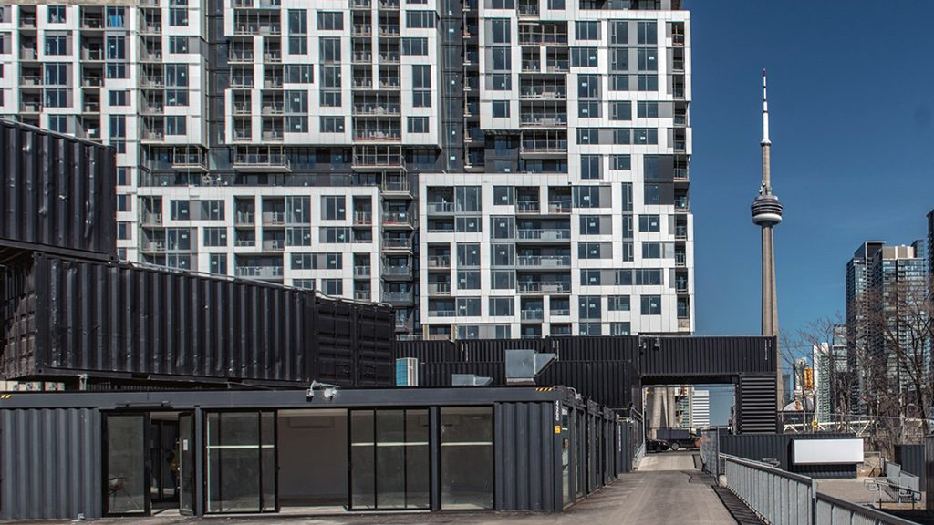 Shipping container marketplace opens in Toronto