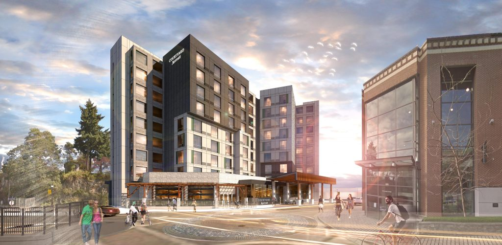 $22-million Courtyard Marriott Hotel given the green light in Nanaimo