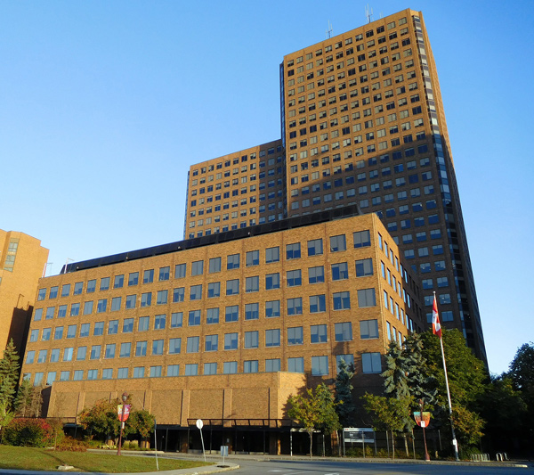 PCL will be replacing the roofs, the exterior brick wall assembly and the windows of the Terrasses de la Chaudiere complex in Gatineau, Que. on a government contract.