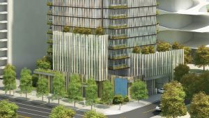 33-storey Vancouver tower inspired by North Shore mountains