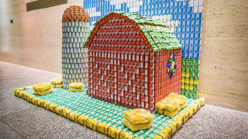 Industry delivers the goods at Canstruction Toronto