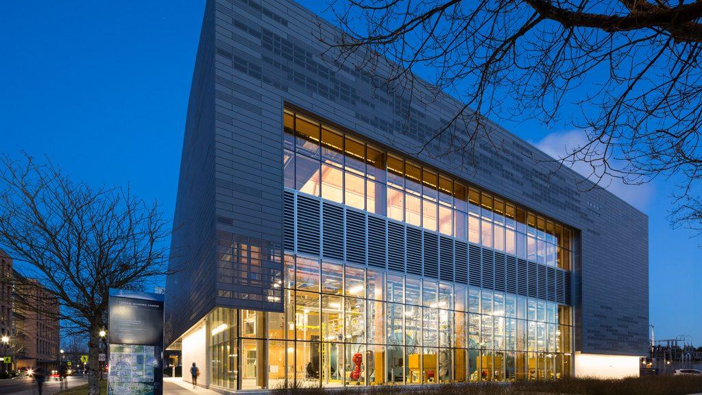 University Campus Energy Centre a wood design winner for DIALOG