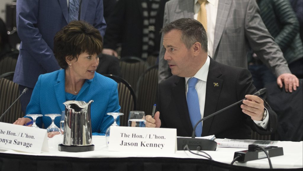 Alberta proclaims law that could cut energy flows to British Columbia