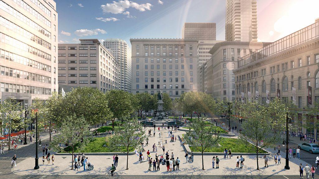 Montreal's Phillips Square to undergo $50-million transformation