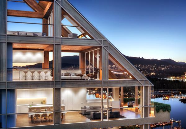 Urban One building record-setting hybrid Terrace House