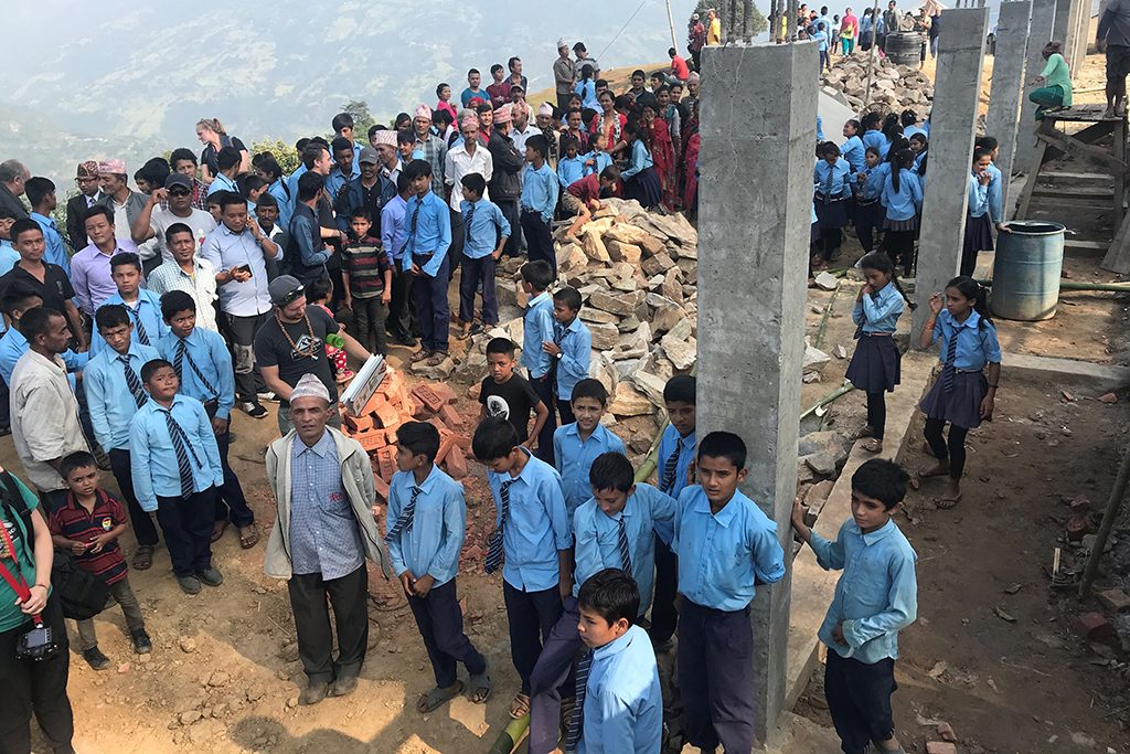 Island mason builds education opportunities in Nepal