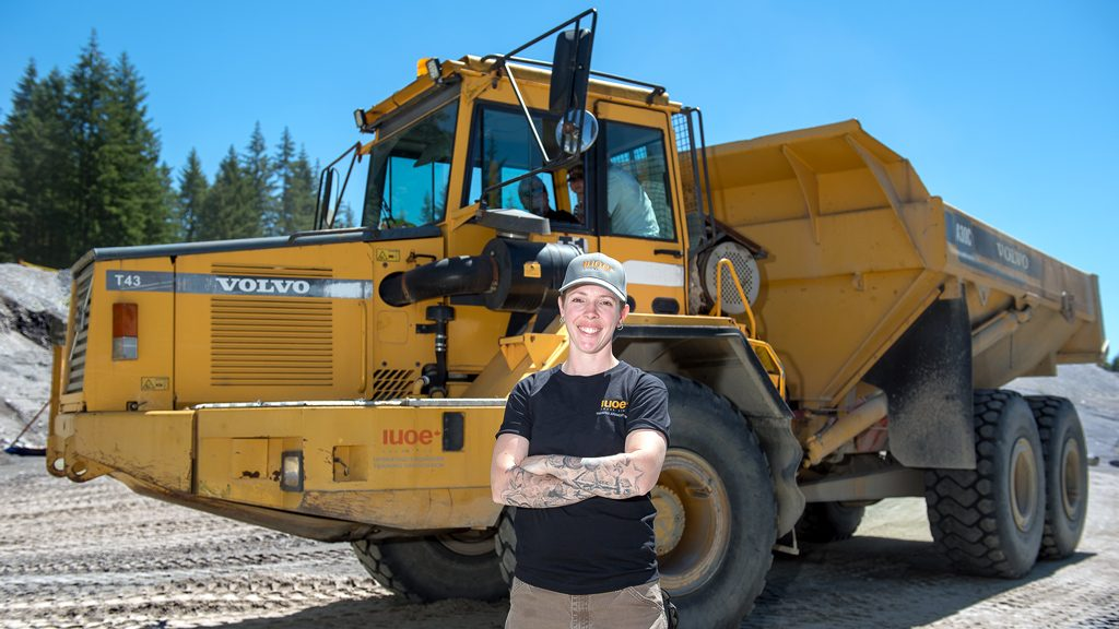 What is the state of B.C.'s women in construction?