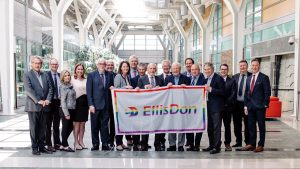 EllisDon marks Pride Month at headquarters and project sites