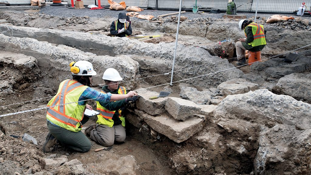 Centre Block renos unearth Ottawa's military past