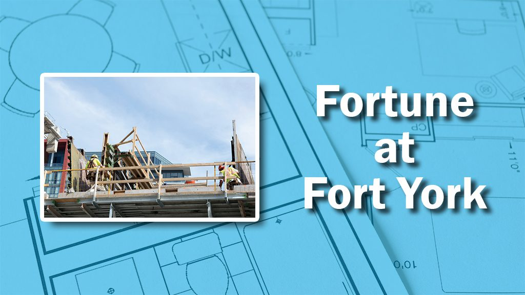 PHOTO: Fort York Formwork
