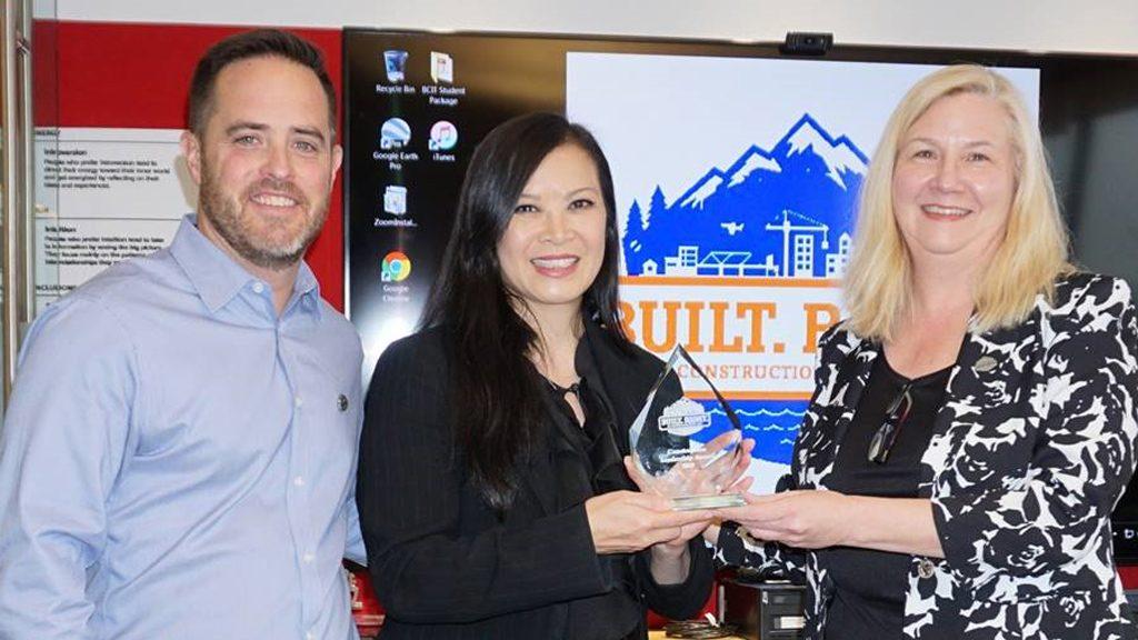 Luk receives B.C. construction month community leadership honours