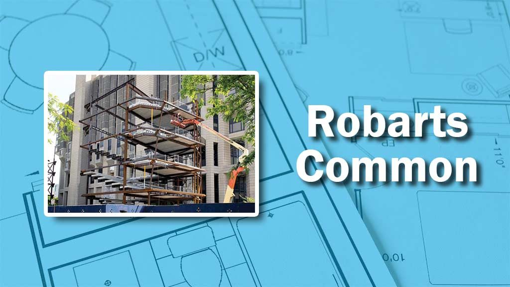 PHOTO: Robarts Common Construction