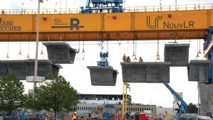 Launching gantries 'Anne' and 'Marie' expedite Montreal's REM work
