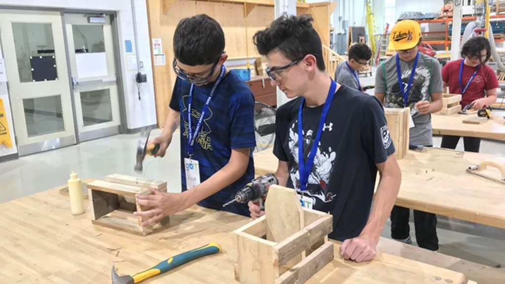 Skills Ontario camps aim to expose students to career possibilities in the trades